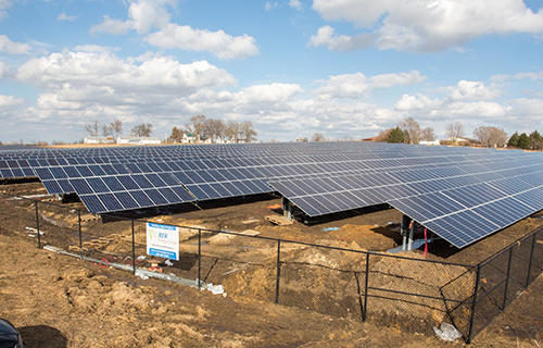RER Completes Iowa's Largest Community Solar Project