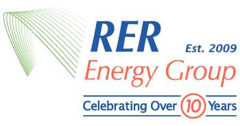 RER 10 Year Anniversary Logo