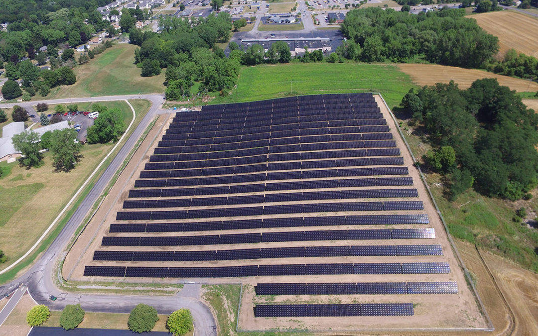 RER Continues to Help Community Organizations Save with Solar; Develops New York State's Largest Public School Solar Array