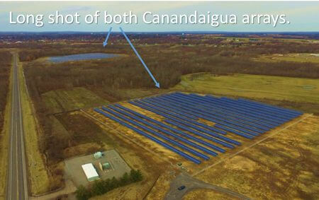 RER Energy Group and Partners Hold Ribbon Cutting at 4.1 MW Array in Canandaigua, New York