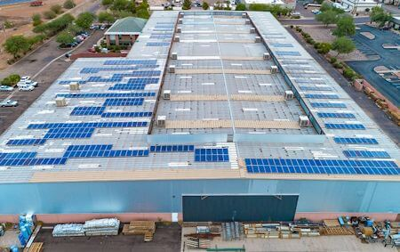 ATAS International's First Solar Array Worked so Well, They are Moving Ahead with Another on Their Allentown, PA Facility