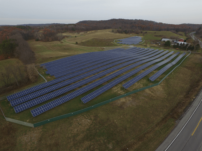 Camden-central school-solar-array DJI_0002