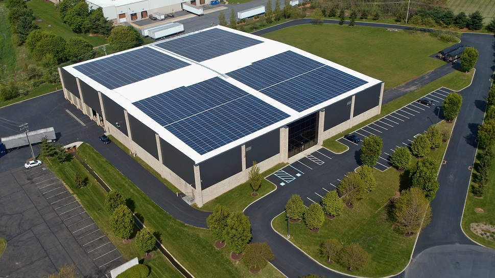 RER Develops Second Roof Array for ATAS Manufacturing Facility