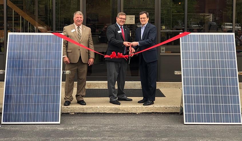 RER Completes Installation of ATAS International's Second Solar Array